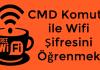 CMD Komutu ile Wifi Şifresini Öğrenmek | Windows 10/8/7 / XP