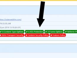 Wordpress için güvenli http başlıkları