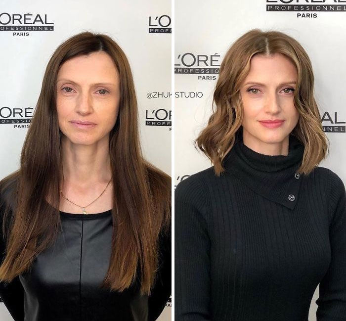 Öncesi Sonrası Saç Modelleri Resimleri