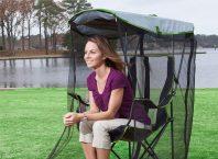 Sivrisinek ve Böceklerden Koruyan Gölgelik Sandalyesi