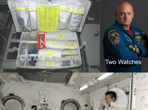 Astronotların uzay yolculuğu sırasında gündelik yaşamlarını nasıl sürdürürler?