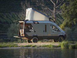 Kampçılar için geleceğin minibüsü hymer visionventure