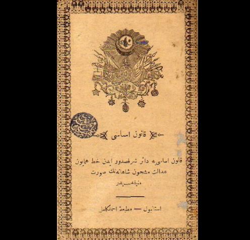 1876 Yılı Osmanlı Anayasası